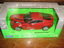 BY WELLY DIECAST - ASTON MARTIN V12 VANTAGE - RED - 1:24 Scale