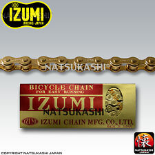 Izumi Chain Gold 1/2 x 1/8 x 96 Links Old School BMX