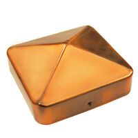 "Nuvo Iron US Eazy Cap for 3.5"" x 3.5"" Posts (Pressure Fit) - Copper Plated"