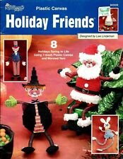 8 HOLIDAY FRIENDS in PLASTIC CANVAS by THE NEEDLECRAFT SHOP