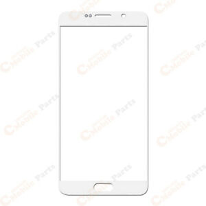 Galaxy Note 5 Front Lens Screen Glass Outer Replacement (N920) - Pearl White