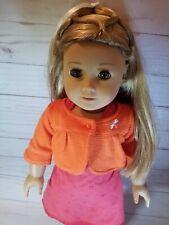 American Girl Doll - Blonde Hair, Green Eyes (used)
