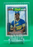 1992 o-pee-chee baseball Manny Ramirez #156 rc super rare dead center mint!!!