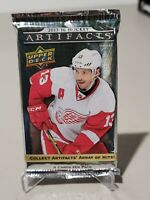 2015-16 UPPER DECK ARTIFACTS HOCKEY FACTORY SEALED HOBBY PACK 4 CARDS MCDAVID?