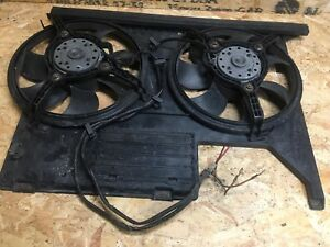 AUDI 80 B4 CABRIOLET 1.8 20V ADR ENGINE COOLING DOUBLE ELECTRIC FAN MOTOR