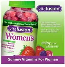 VITAFUSION WOMEN`S GUMMY VITAMINS ENERGY METABOLISM & BONE SUPPORT 220 GUMMIES