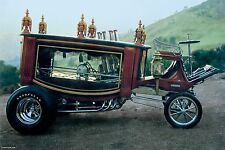 Boothill Express Hearse Show Rod Car Photo POSTER hot rod gasser custom rat