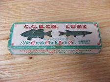 Beautiful Original Creek Chub 2307 Glass Eye Pikie in Mullet Color w/Box