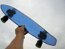 Vintage crysta sidewalk translucent skateboard surfboard 1970s very nice wheels
