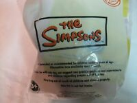 Rare Burger King Simpson 6 Piece Toy Set Complete Still Sealed From 2008 t1