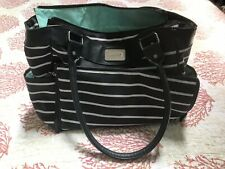 Carter's Striped Diaper Bag