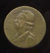 FRENCH REVOLUTIONARY FIGURE DANTON GULLOTINE 1794 RARE BUTTON