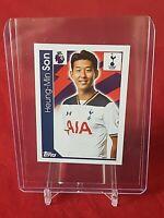 Heung Min Son Tottenham Hotspur Premier League 2017 Topps Sticker
