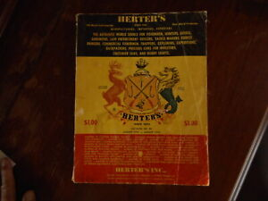 Vintage 1974 Herters Inc Catalog Hunting Fishing Apparel Gems Waseca MN Mitchell