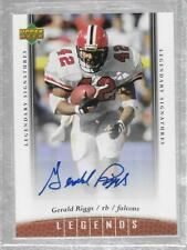 2006 Upper Deck Legends Legendary Signatures #83 Gerald Riggs Sr. Auto