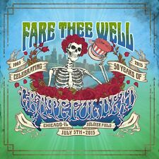 Grateful Dead - Fare Thee Well: The Best Of (NEW 3 x CD & 2 x DVD)