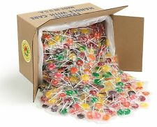 Candy Creek Fruit Lollipops, Bulk Suckers 18 lb, 10 Fruit flavors, about 1050