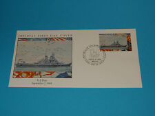 WWII FDC W100-2 V-J Day 1945 Japan Victory Peace * 50th Anniversary