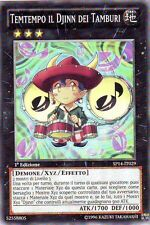 Temtempo il Djinn dei Tamburi YU-GI-OH! SP14-IT029 Ita COMMON STARFOIL 1 Ed.