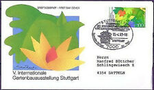 BRD 1993: Gartenbau! FDC der Nr. 1672 mit Stuttgarter Stempel! Gelaufen! 1806