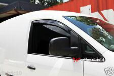 VW VOLKSWAGEN CADDY 2005-2017 WEATHER SHIELD WEATHERSHIELD WINDOW DOOR VISOR