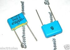 10pcs - WIMA FKS3 4700P (4700PF 4.7nF 4,7nF) 630V 5% pich:10mm Capacitor
