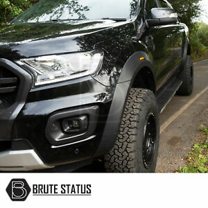 Ford Ranger 2019+ Wide Body Wheel Arches Fender Flares T8 OEM Raptor Style