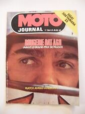 Moto Journal Avril  1976 N°264 500 Yamaha XS Rougerie Ago