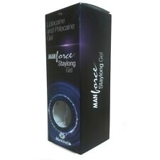 Manforce Stay Long Gel for Men - 10gx2 pics 100% PRIVATE PACKING