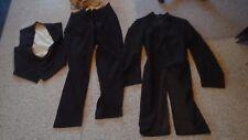 ANTIQUE KNIGHTS TEMPLAR MASONIC UNIFORM COAT Jacket vest paints  1900