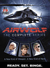 Airwolf The Complete Series DVD 14-Disc Set TV Christmas X-Mas Retro Gift New