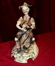 Capodimonte Statue Of Old Farmer- Large Size, Marked