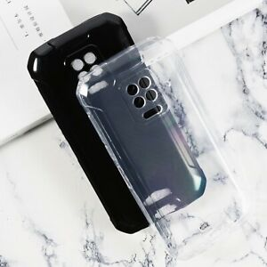 New Ultra Thin Soft Silicone Clear Black TPU Case Cover For Doogee S59 Pro