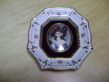 "Lady Ebeffield Vintage ""Cameo Creations"" Rare Porcelain wall hanging"