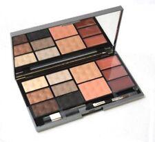 Macy's Warm Cosmetic Face Palette EyeShadow Blush Bronzer Lip Gloss Applicators