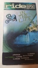 Rare 2002 Ride Bmx In The Life - Bmx Bicycle Vhs Video extreme