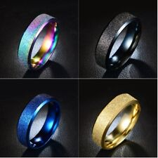 Wholesale 50pcs Mix Colors Stainless Steel Rings Fashion Jewelry for Men Women