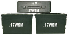 ".17 WSM Ammo Box(decals) Two 6.5""x1.5 One 3""x0.75"" No Box Included"