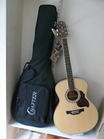 Crafter GA6n acoustic guitar & Crafter padded gigbag, new waranteed