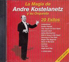 Andre Kostelanetz y Su Orquesta 20 Exitos CD New Sealed