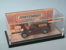 Matchbox Austin Mini Van 2009 Pre Toy Fair Model Rare 63mm Toy Model Car