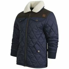 Waist Length Nylon Regular Quilted Coats & Jackets for Men