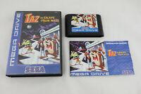 Jeu TAZ IN ESCAPE FROM MARS pour Sega MEGA DRIVE (MD) COMPLET PAL