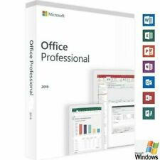 MS Office 2019 Professional for Windows PC PRODUCT KEY & DVD
