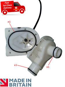 Lay Z lazy Spa water pump seal kit; 2 x pump connection O'Rings & housing seal