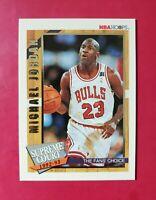 MICHAEL JORDAN 1992-93 NBA Hoops *Supreme Court* Insert#SC1 (MINT) GEM OF A CARD