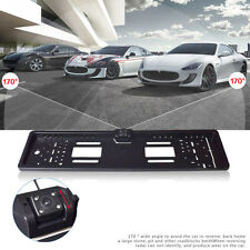 EU Car Auto License Plate Frame Rear View Reverse Backup Night Vision Camera
