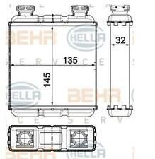 RADIATORE RISCALDAMENTO SMART FORTWO (W451) BHER