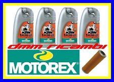 Kit Tagliando KTM RC8 1190 R 10>11 + Filtro Olio MOTOREX racing 20W/60 2010 2011