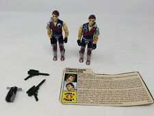 Vintage Action Force/G.I.JOE TOMAX & XAMOT figures twins [100% complete]